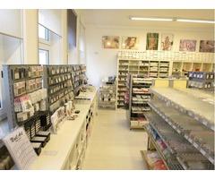 Ladengeschäft Direkteinkauf Nageldesign Shop