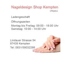 Nageldesign Shop in Kempten