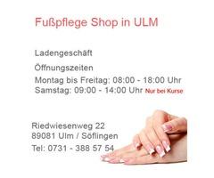 Fußpflege Shop Laden